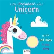 Peekaboo Lift The Flap Unicorn | Board Book