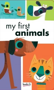 My First Animals | Board Book