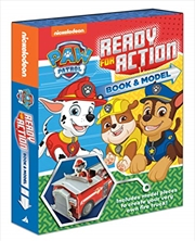 Paw Patrol Ready For Action Book And Model Kit | Hardback Book