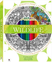 Woodland Wildlife Colouring Kit | Merchandise