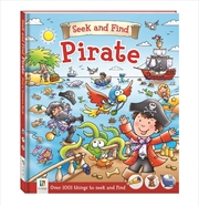 Seek And Find: Pirate | Paperback Book