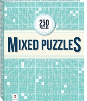 250 Puzzles - Mixed Puzzles | Spiral Bound