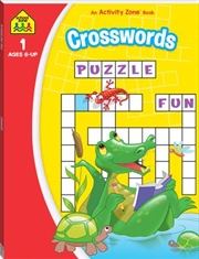 School Zone: Crosswords Activity Book (2020) | Paperback Book