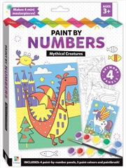 Paint by Numbers: Mythical Creatures | Colouring Book
