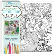 Artists' Colouring Canvas: Tropical Toucans | Colouring Book