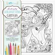 Artists' Colouring Canvas: Unique Unicorn | Colouring Book