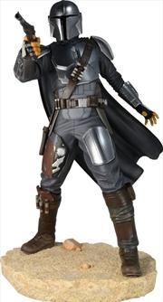 Star Wars: The Mandalorian - Mandalorian Mark 3 1:7 Scale Statue | Merchandise