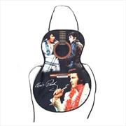 Elvis Apron Guitar Shape | Merchandise