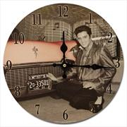 Elvis Clock W/Car | Accessories