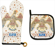 Elvis Pot Holder Oven Mitt | Homewares