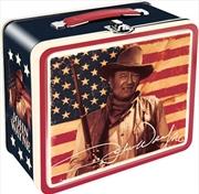 John Wayne Flag Lunch Box | Lunchbox