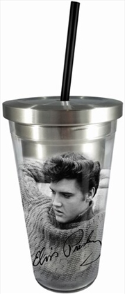 Elvis Cup With Straw | Merchandise
