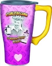 Vitameatavegamin Travel Mug | Merchandise