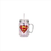 Superman Mason Jar | Merchandise
