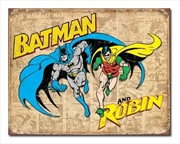 Batman And Robin Weathered | Merchandise
