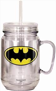 Batman Mason Jar | Merchandise