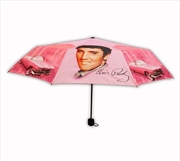 Elvis Pink W Guitars Umbrella | Merchandise