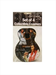 Elvis Coasters Guitar Shape | Merchandise
