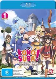 Konosuba - God's Blessing On This Wonderful World! - Season 1 | Blu-ray
