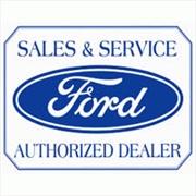 Ford Logo Tin Sign | Merchandise
