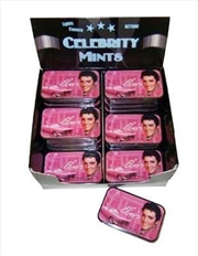 Elvis Mints Pink W/Guitars | Collectable