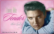 Elvis Love Me Tender Cards | Merchandise