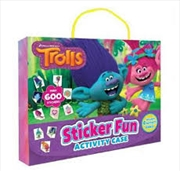 Trolls: Sticker Fun Activity Case (dreamworks) | Hardback Book