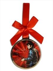 Elvis Christmas Ornament 68' Name Foil | Homewares