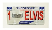 Elvis License Plate 1 Elvis | Merchandise