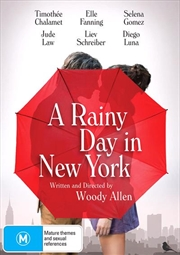 A Rainy Day In New York | DVD