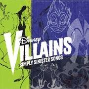 Disney Villains - Simply Sinister Songs | CD