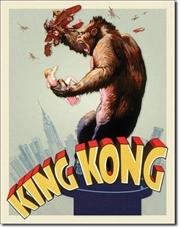 King Kong - Original Poster Tin Sign | Merchandise