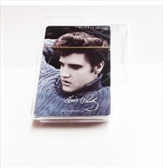 Elvis Playing Cards Blue Sweater | Merchandise