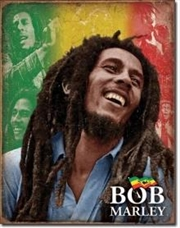 Bob Marley - Mosaic Tin Sign | Merchandise
