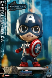Avengers 4: Endgame - Captain America The Avengers Version Cosbaby | Merchandise