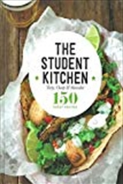 Student Kitchen Kitchen Cookbooks | Hardback Book