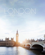 London - Imagine & Discover Travel Series | Hardback Book