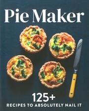 Pie Maker | Paperback Book