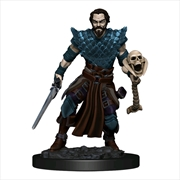 Dungeons & Dragons - Premium Human Warlock Male Miniature | Games