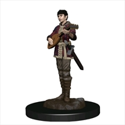 Dungeons & Dragons - Premium Half-Elf Bard Female Miniature | Games
