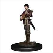 Dungeons & Dragons - Premium Half-Elf Bard Female Miniature | Games