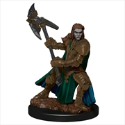 Dungeons & Dragons - Premium Half-Orc Fighter Female Miniature | Games