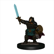 Dungeons & Dragons - Premium Dwarf Paladin Female Miniature | Games