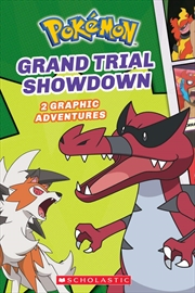 Grand Trial Showdown : Pokemon Graphic Novel #2 | Paperback Book
