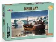 Disko Bay Greenland Puzzle - 1,000 Pieces   Merchandise