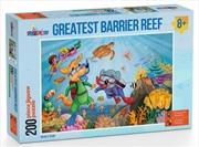 Greatest Barrier Reef Puzzle 200 Pieces | Merchandise