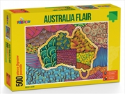 Australia Flair Puzzle 500 Pieces | Merchandise