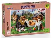 Puppy Love Puzzle 200 Pieces   Merchandise