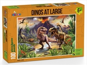 Dinos At Large Puzzle 100 Pieces | Merchandise