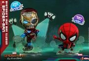 Spider-Man: Far From Home - Spider-Man & Iron Man Cosbaby Set | Merchandise
